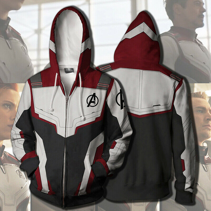 Avengers 4 Endgame Advanced Tech Hoodies Sweatshirts Cosplay