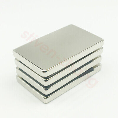 50mm X 30mm X 5mm Block Bar Strong Permanent Magnets Rare Earth Neodymium