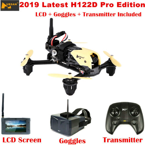 Hubsan H122D Pro Racing Drone FRV Quadcopter W/ 720P HD Camera +LCD +Goggles USA