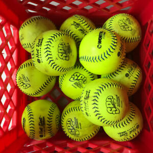 Worth Slow Pitch Balls - Used