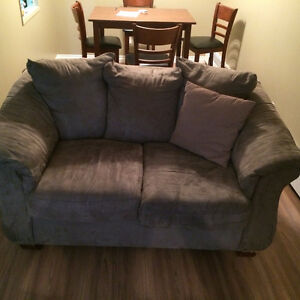 Large couch and love seat