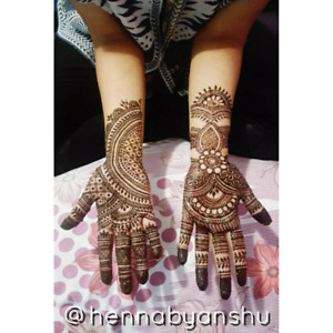Henna by Anshu - Brampton and Mississauga
