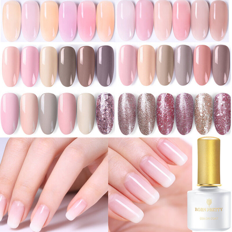 6ml BORN PRETTY Jelly Pink Gel Soak Off UV Gel Nail Polish S