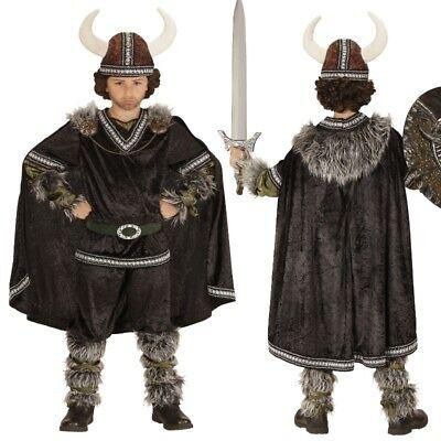 Krieger Wikinger Kinder Jungen Kostüm  NEU Knut Barbaren Mittelalter (Wikinger Kostüm Kinder)