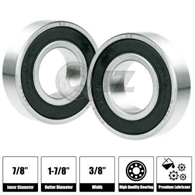 2x Sr14-2rs 78in X 1-78in X 12in Sr14rs Stainless Inch Steel Ball Bearing New