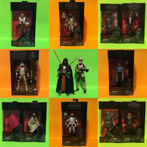"Star Wars The Black Series Action Figure Lot 6""  Hasbro"