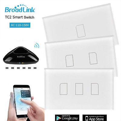 Tc Panel (Broadlink TC2 1/2/3G Glas WiFi/4G Touch-Panel Schalter&RM Pro Smart Zuhause)