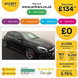 Mercedes-Benz A45 4MATIC 2014.5MY AMG FROM £134 PER WEEK!