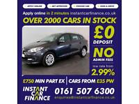 Renault Megane Dynamique Tomtom Dci Estate1.5Diesel GOOD/BAD CREDIT CAR FINANCE