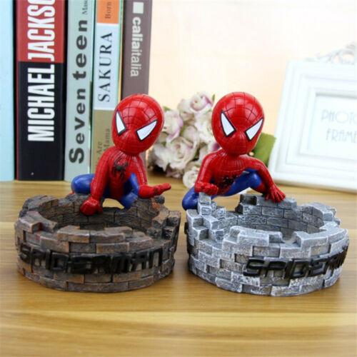 marvel avengers creative spiderman ashtray cigarette ash