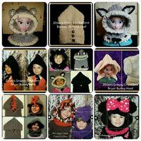 Customized Crochet Cowls