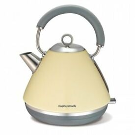 Morphy Richards Accents Traditional Cream Kettle (BRAND NEW)