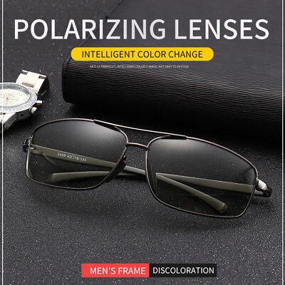 Photochromic Sunglasses Mens Polarized Eyewear Transition Lens Driving (Transition Eyewear)