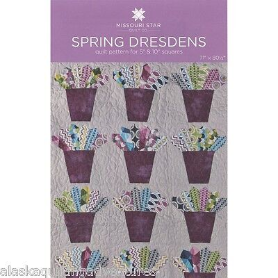 Quilt Pattern   Spring Dresdens   By Missouri Star Quilt Co