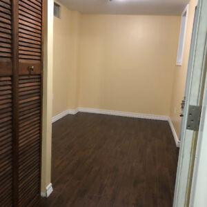 1 Bedroom basement apartment for rent Creditview & Eglinton