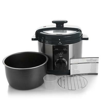 Wolfgang Puck Rapid Non Stick Stainless Steel Pressure Cooker Automatic 5 Quart