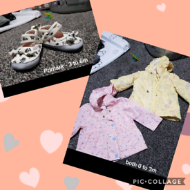 Baby girls bundle. Will accept offers around £25 for the lot.