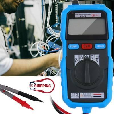 Non-contact Digital Multimeter Dc Ac Voltage Current Tester Bside Adm04 Ammeter