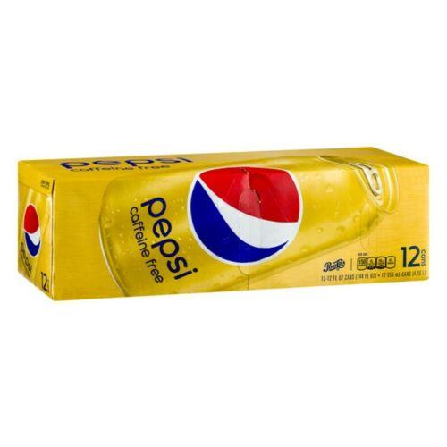 Pepsi Caffeine Free Cola (Pack Of 12)