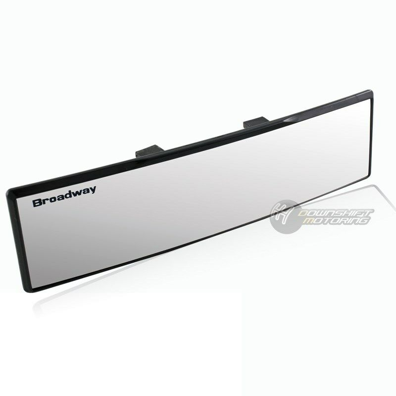 270mm wide size helps minimize your blind spot increase your safety ...: ebay.com/itm/broadway-270mm-wide-convex-interior-clip-on-car-truck...
