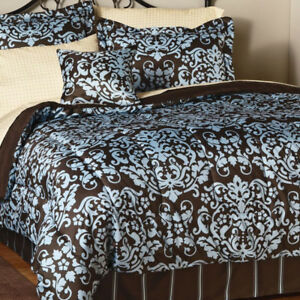 Granada Full Comforter Set + Sheet Set KING NEW