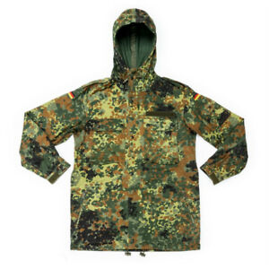 GERMAN BUNDESWEHR FLECKTARN PARKA, GENUINE SURPLUS