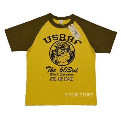 BOB DONG USAAF The 603rd Bomb Squadron 8th Air Force Raglan Sleeve Men T-Shirts