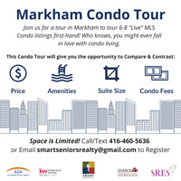 Curious about Condo Living? Attend our FREE Condo Tour!
