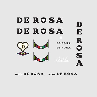 De Rosa Bicycle Decals-Transfers-Stickers #2