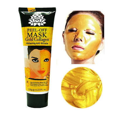 Gold Collagen Facial Face Mask High Moisture Anti-Aging Remove Wrinkle Care 120g