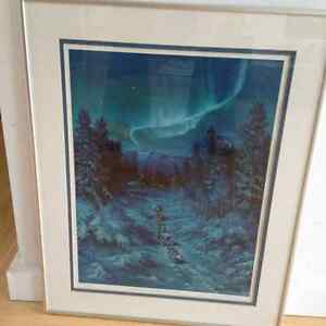 """Northern Lights"" by Diane Paton Peel 20x16"