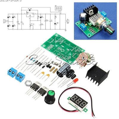 Diy Kit Led Lm317 Adjustable Voltage Regulator Step-down Power Supply Module Set