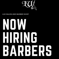 Now Hiring Full/Part Time Barbers