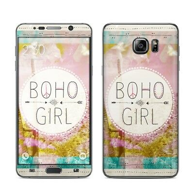 Galaxy Note 5 Skin - Boho Girl by True Spirit Art - Sticker Decal