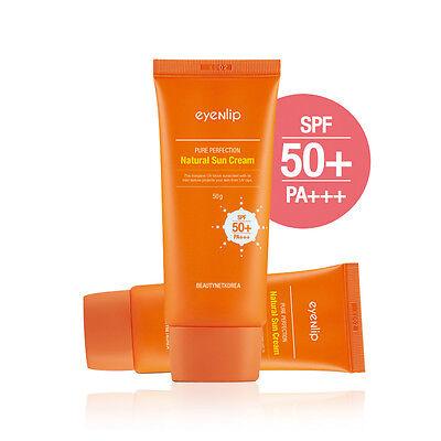 [EYENLIP] Pure Perfection Natural Sun Cream (SPF50+/PA+++) 50g / Moisture