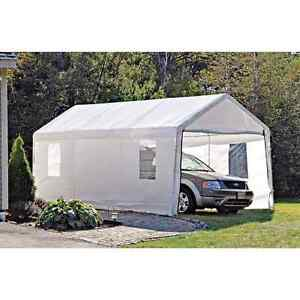 10' x 20' Shelter Logic car garage/ car port