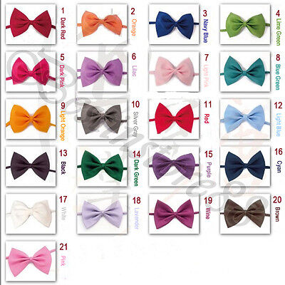 Buy Bow Ties (1PC Dog Cat Pet Puppy Toy Kid Cute Bow Tie Necktie 20 color IF Buy 3PC get)
