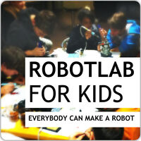 Technology and Robotics Workshop for Children 5-14 Years Old!