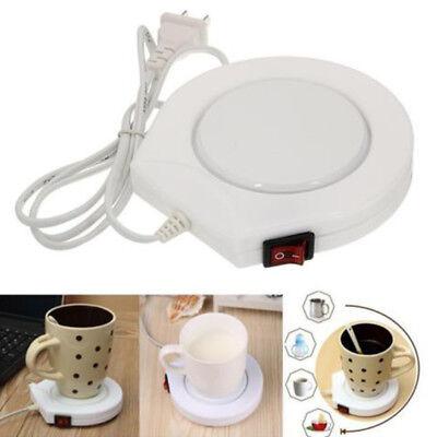 Electric Coffee Mug Warmer Tea Cup Heater Heating Plate For Office Home Hot Sale