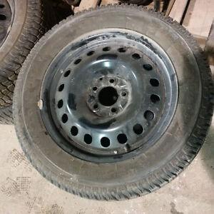 "17"" Firestone Firehawk PVS Performance Winter Tires & Rims"