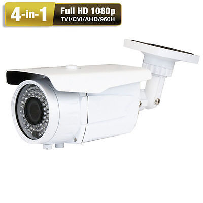 2.6MegaPixel 1080P 4-in-1 Varifocal Lens OSD 72IR LED Security Camera DVR System 4 Kamera Dvr-system