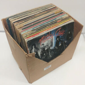 Lot of 56 Vinyl Records - Online auction