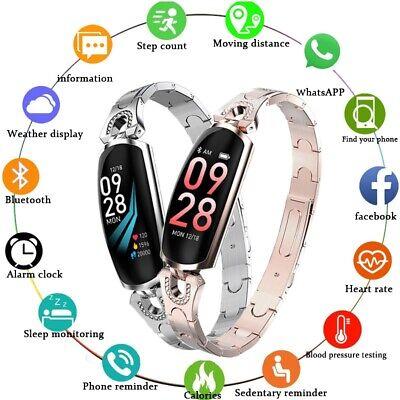 Best Gift Women Smart Watch Bracelet Heart Rate Monitor Blood Pressure