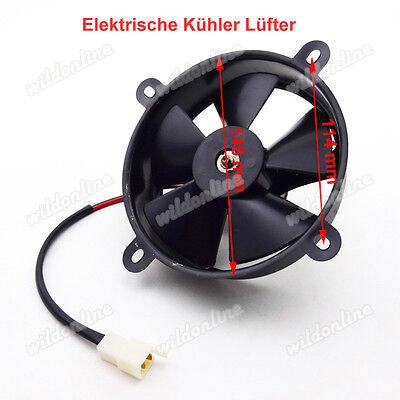 Elektrische Lüfter (Elektrische Kühler Lüfter für Chinese ATV 200cc 250cc Quad Go Kart 4 Wheeler)