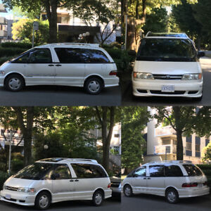 1998 Toyota Previa Immaculate Condition, LOW LOW KMs