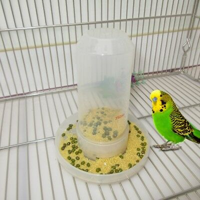 Bird Feeder Food Water Feeding Automatic Drinker Parrot Pet Clip Dispenser Cage
