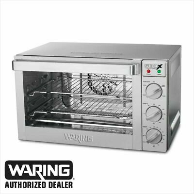 Waring Wco500x Commercial 12 Size Convection Oven 120 Volt Wco500