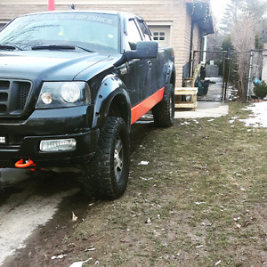04 f150 fx4 lifted. Fresh rebuilt tranny
