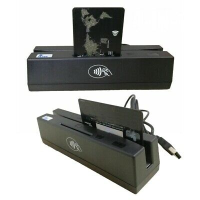 Magnetic Stripe Credit Card Emv Ic Chip Rfid Psam Reader Writer Yl160 4-in-1
