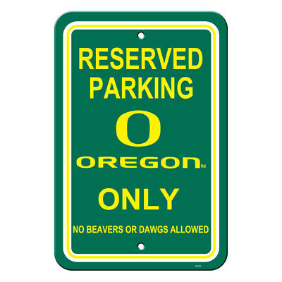 New NCAA Oregon Ducks Reserved Parking Sign - Home Office Bar Decor